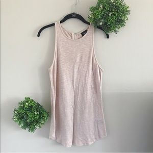 Mossimo  pink sparkle sleeveless top size small